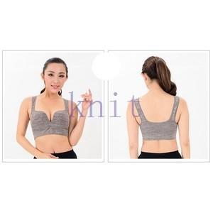 スポーツブラ ヨガウェア ブラ ブラジャー インナー ダンス フィットネス 筋トレ ウォーキング ランニング 吸汗速乾 超軽量 快適YUD-AL427|knit