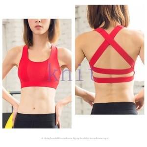 スポーツブラ ヨガウェア ブラ ブラジャー インナー フィットネス ダンス ランニング 吸汗速乾 超軽量 通気性YUD-AL439|knit