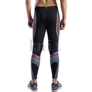 スポーツタイツ ランニングレギンス タイツト スポーツウェア メンズ フィットネス 動きやすい ランニング トレーニング レギンスYUD-AL545|knit