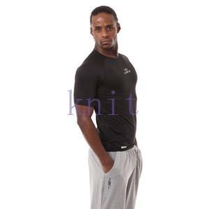 コンプレッション ストレッチウェア スポーツウェア スポーツシャツ メンズ フィットネス 動きやすい ランニング トレーニング トップスYUD-AL549|knit