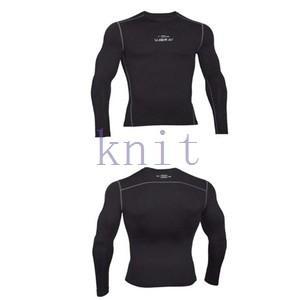 コンプレッション ストレッチウェア スポーツウェア メンズ フィットネス 動きやすい ランニング トレーニング トップスYUD-AL551|knit