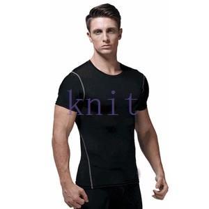コンプレッション ストレッチウェア スポーツウェア メンズ フィットネス 動きやすい ランニング トレーニング トップスYUD-AL555|knit
