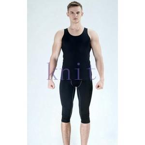 スポーツタイツ ランニングレギンス タイツト スポーツウェア メンズ フィットネス 動きやすい ランニング トレーニング レギンスYUD-AL585|knit
