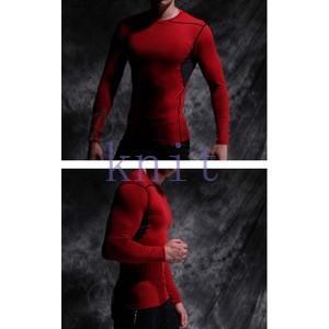 コンプレッション ストレッチウェア スポーツウェア メンズ フィットネス 動きやすい ランニング トレーニング トップスYUD-AL620|knit