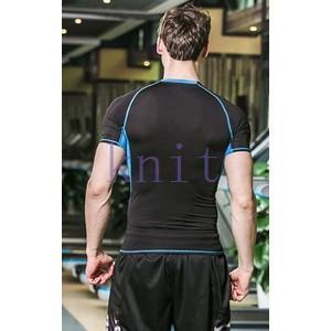 コンプレッション ストレッチウェア スポーツウェア メンズ フィットネス 動きやすい ランニング トレーニング トップスYUD-AL622|knit