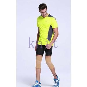 カーフスリーブ メンズ スポーツサポーター スポーツ トレーニング ストレッチ ランニング 自転車 ランニングスリーブ サポーターYUD-AL640|knit
