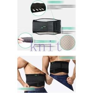 腰サポーター メンズ 男性用 腰サポーター ウエストサポーター スポーツサポーターYUD-AL645|knit