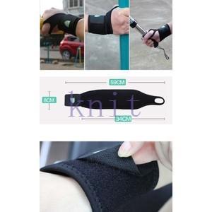 手首サポーター スポーツ トレーニング スポーツサポーター メンズ 機能性 通気 吸汗速乾 ストレッチYUD-AL650|knit