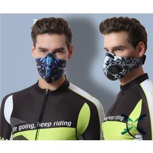 マスク 花粉 立体 花粉 花粉対策 黄砂 かぜ 風邪 防塵 抗菌 予防 防寒対策 防寒保温 自転車|knit