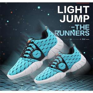 ランニングシューズ メンズ スニーカー デッキシューズ レースアップ ローカット 軽量 靴 シューズ ジョギング ランニング ウォーキング アウトドア 通気性|knit