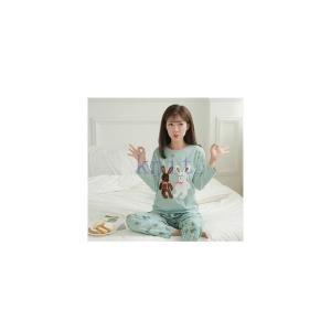 パジャマ マタニティ 春秋 新作 長袖 寝巻き ルームウエア 部屋着 授乳口付き 2点セット 産前産後 大きいサイズ 柔らかい 上質GSYC-AL40|knit
