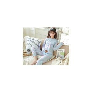 パジャマ マタニティ 春秋 新作 長袖 寝巻き ルームウエア 部屋着 授乳口付き 2点セット 産前産後 大きいサイズ 柔らかい 上質GSYC-AL54|knit