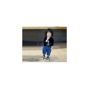 パンツキッズジュニア女の子子供服春秋春新作長ズボンボトムスおしゃれ上品GETC-AL354|knit
