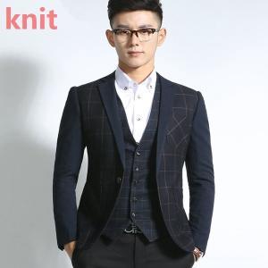 ジャケット ブレザー スーツ テーラード キレイめ テーラードジャケット メンズ カジュアル 春 メンズジャケット ジャンパー 切り替え ビジネス デザイン|knit