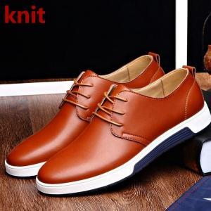ビジネスシューズ デッキシューズ カジュアルシューズ ウォーキングシューズ ビジネス デッキ メンズ靴 ビジネス フォーマル 紳士靴 靴 革靴 軽量|knit
