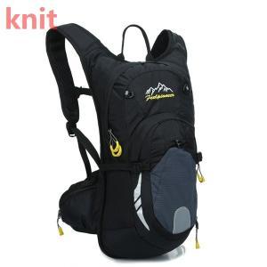 リュック バッグ デイパック サイクリング 軽量 かばん 防水 リュックサック ランニング 登山 アウトドア バックパック 大容量 防災 旅行 遠足 多機能 通学|knit