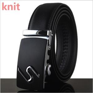 ベルト メンズ 本革 牛革ベルト 大きいサイズ ビジネス カジュアル 高級 バックルベルト レザー 定番 belt ベーシック シンプル ファッションベルト 紳士ベルト|knit