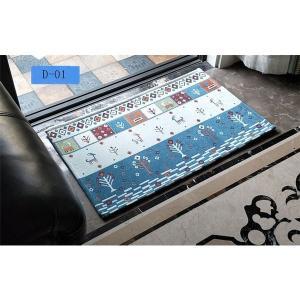 マット玄関マット洗えるラグエントランスマット玄関ラグドアマット50×80cm滑り止めラグカーペットsale激安|knit