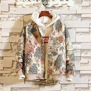 スタジャン メンズ ベースボールジャケット ブルゾン ジャンパー アウター ジップアップ 春秋 刺繍 長袖 おしゃれ 大きいサイズあり M~5XL|knit