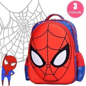 キッズリュック男の子女の子子供ジュニア通学通園幼児幼稚園保育園遠足おしゃれかわいいスパイダーマン子供リュック大容量 knit