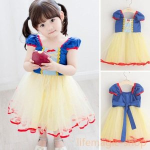ハロウィンプリンセス白雪姫子供キッズHalloween女の子コスチュームコスプレパーティーワンピースイベント仮装衣装可愛い演出|knit