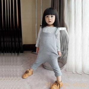 ベビー服ニットオーバーオール男の子女の子サロペットおしゃれ|knit
