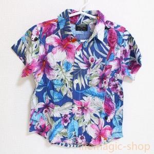 ベビーキッズアロハシャツCサマー子供服トップス|knit