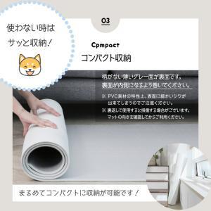 ペットマット 犬 猫 おしゃれ 大きめ ズレない 大判 フローリング 滑り防止 フロアマット 防水 ecf02 knktrading 11