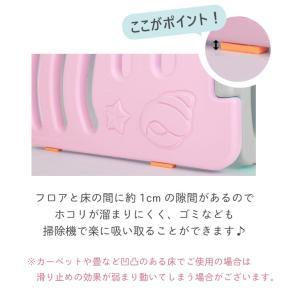 ベビーサークル ベビーゲート おしゃれ プレイヤード プラスチック セーフティーゲート 赤ちゃん 柵 安全 ifam if01|knktrading|18