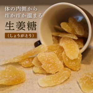 生姜糖 しょうが ドライジンジャー 70g 単品 冷え性対策 ドライフルーツ 乾燥野菜 乾燥生姜 knopp