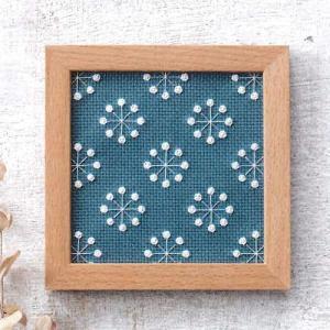 コスモ ルシアン 刺繍キット 小さなフレーム オクタグラム ko-da