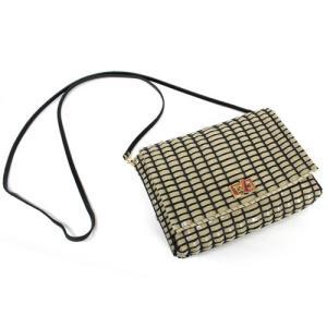 【ラ メルヘンテープ使用】メルヘンアート レンガブロック柄のショルダー バッグキット エナメルグレージュ|ko-da