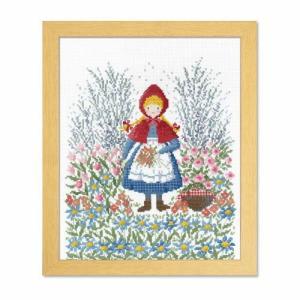 オリムパス クロスステッチ刺繍キット オノエ・メグミ 夢見る童話の世界 赤ずきんちゃん【刺繍キット】 ko-da