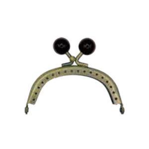 イナズマ 口金 小物口金 幅7.5cm BK-742AG|ko-da