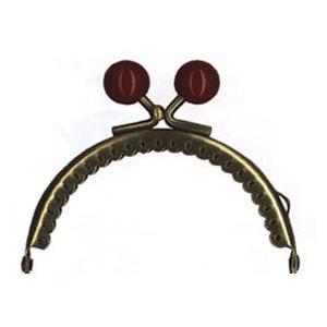 イナズマ 口金 小物口金 幅8cm BK-881AG|ko-da