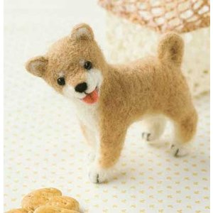 ハマナカ フェルト羊毛 柴犬|ko-da
