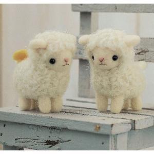 ハマナカ フェルト羊毛 なかよしひつじ ko-da
