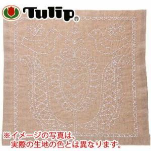 チューリップ SASHIKO WORLD Hungaury 花ふきんキット ことりとチューリップ ko-da