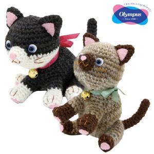 オリムパス いたずら子猫(あみぐるみキット) 2匹セット ko-da