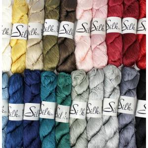【シルク100%!日本製の高品質編み糸】内藤商事毛糸 シルク65|ko-da