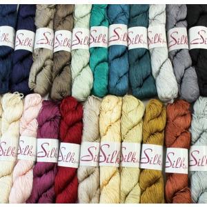 【シルク100%!日本製の高品質編み糸】内藤商事毛糸 シルクファイン|ko-da