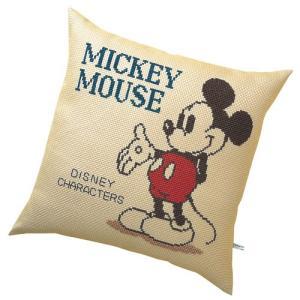 オリムパス ディズニー刺繍キット クッション ミッキーマウス  【刺繍キット】 ko-da
