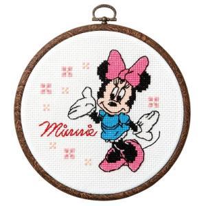 オリムパス ディズニー刺繍キット ミニーマウス(フープ付)  【刺繍キット】|ko-da