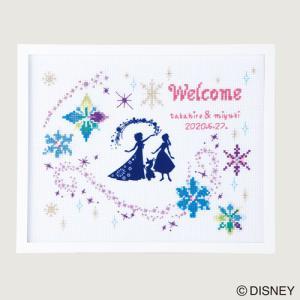 オリムパス ディズニー刺しゅうキット ウェルカムボード アナと雪の女王 【刺繍キット】|ko-da