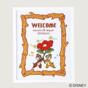 オリムパス ディズニー刺しゅうキット ウェルカムボード チップ&デール 【刺繍キット】|ko-da