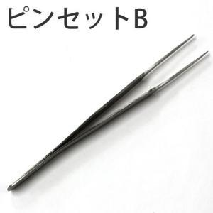 つまみ細工用 精密ピンセットB 【サン】 ko-da