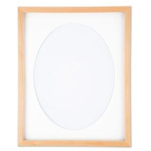 オリムパス 額 W-60(白木)【刺繍用品】|ko-da