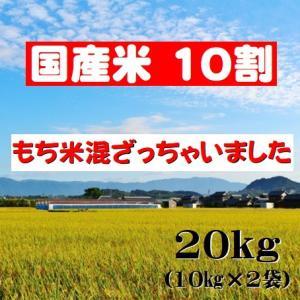 【うるち米】もち米混ざっちゃいました 20kg【国内産】...