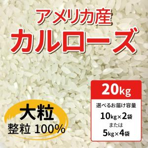 2020年産 業務用米 中粒種 アメリカ産カルローズ 20kg