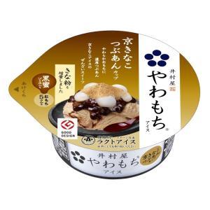 井村屋あずきバーでお馴染みの美味し国三重が誇る銘菓香りと味わいが深い京きなこアイス、黒蜜ソース、つぶ...